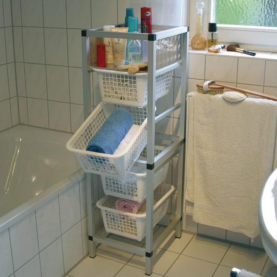 Estantes De Acero Para Baño:Estante para baño con combitech® connect