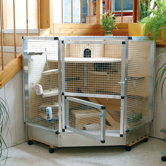 New ideas with combitech for Cage a lapin exterieur
