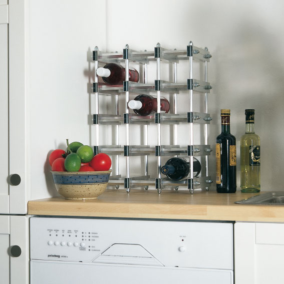 Hogar - Muebles para poner botellas de vino ...