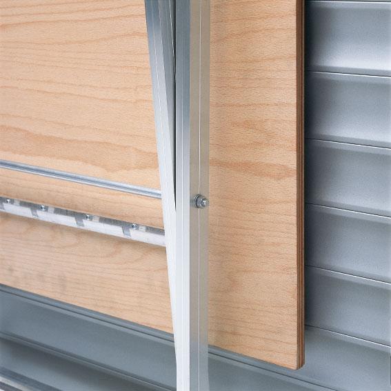 Klapptisch balkon blech  Ideen aus alfer®-Profilen zum Thema Balkon und Garten