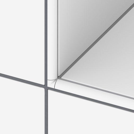 Pose de carrelage for Couper carrelage angle